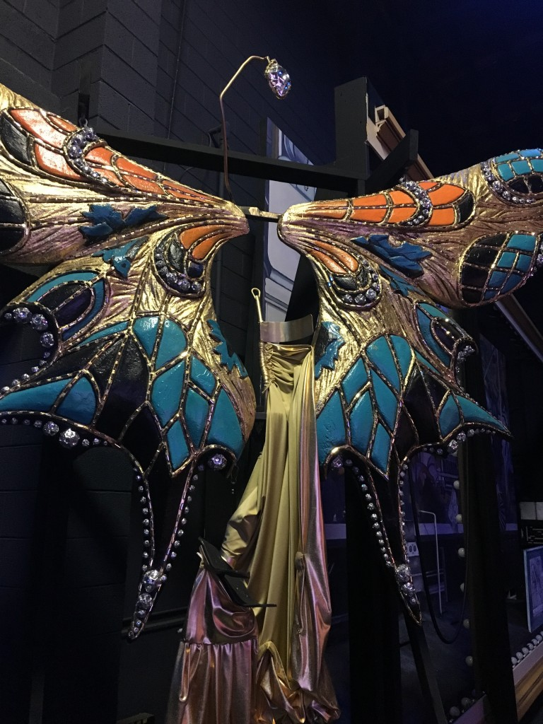 butterfly wings in Pageant of the Masters