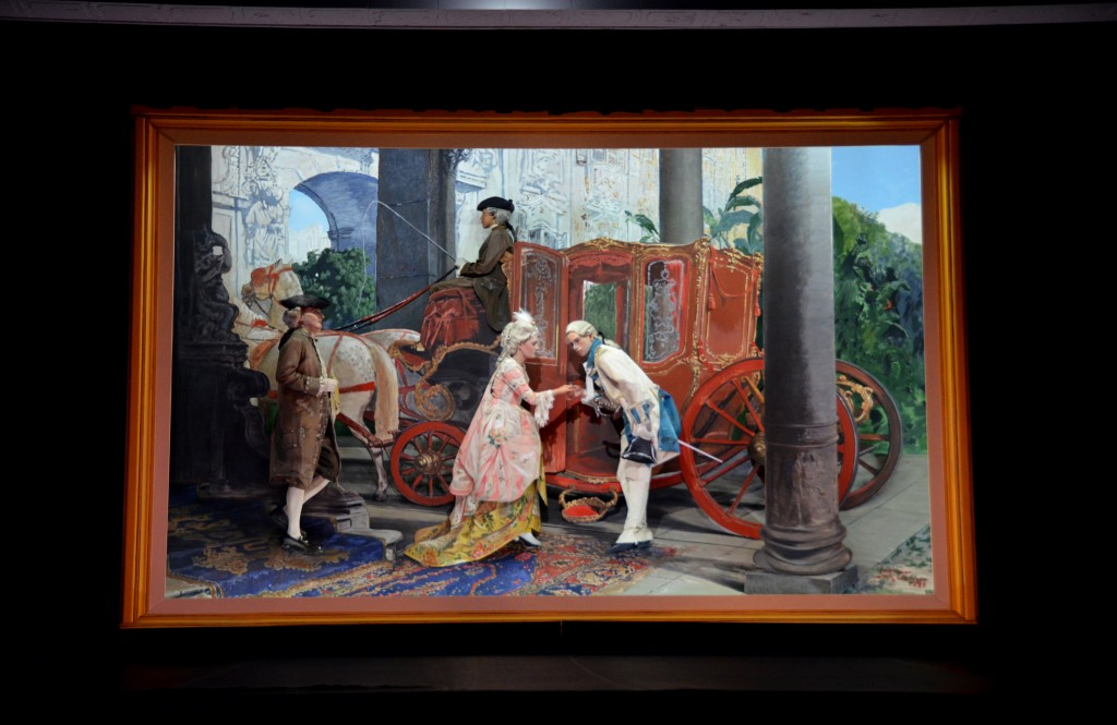 pictures come to life in Pageant of the Masters