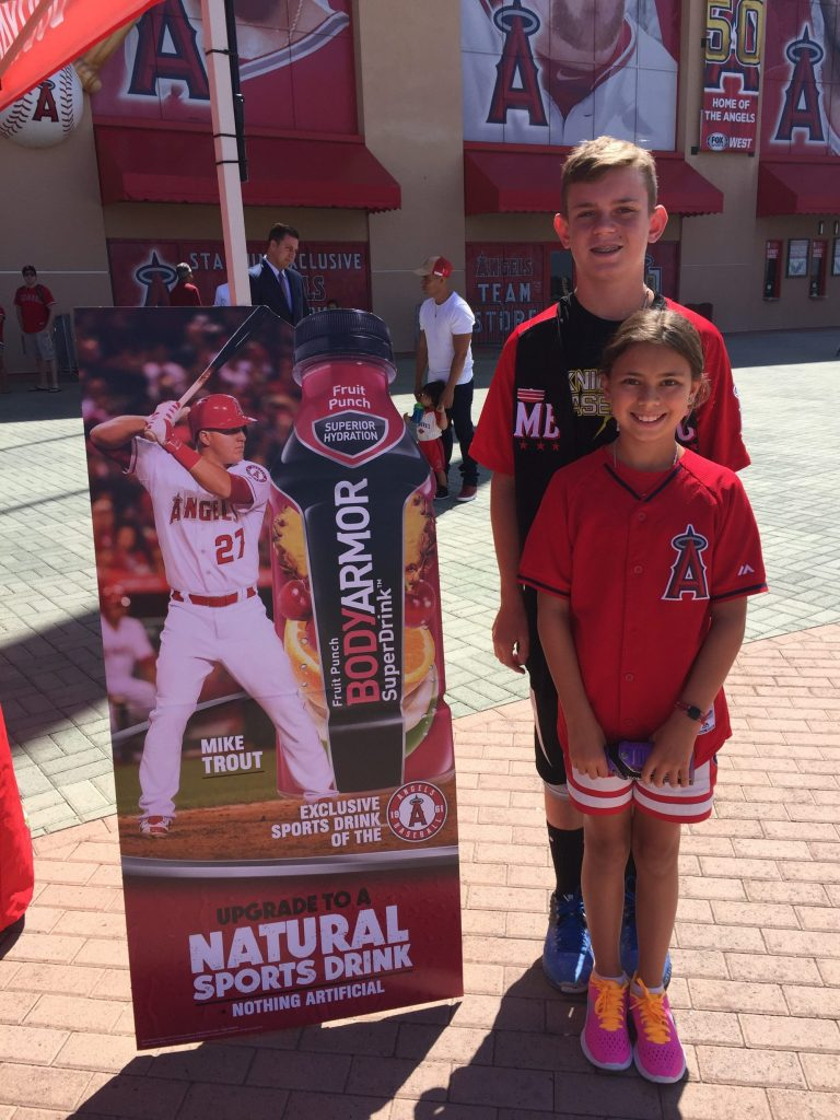 BodyArmor Meet n Greet with Mike Trout