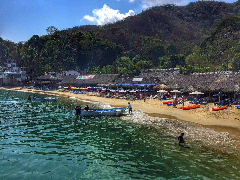 Las Animas Beach in Puerto Vallarta