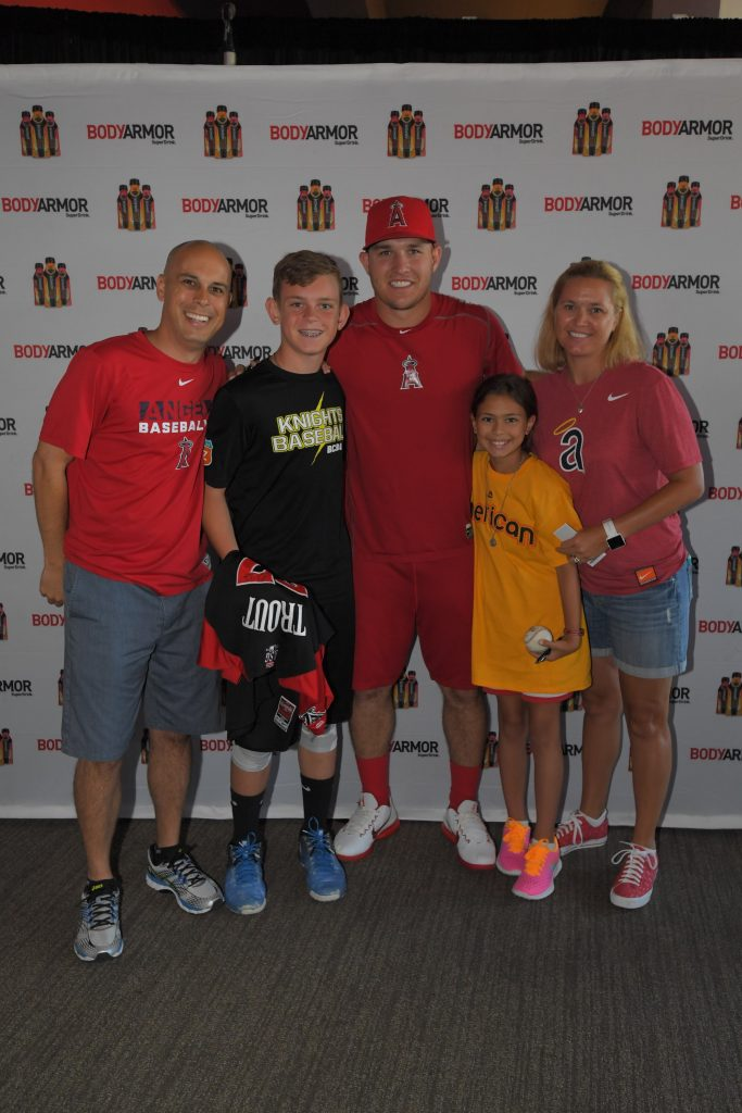 Mike Trout Meet n Greet