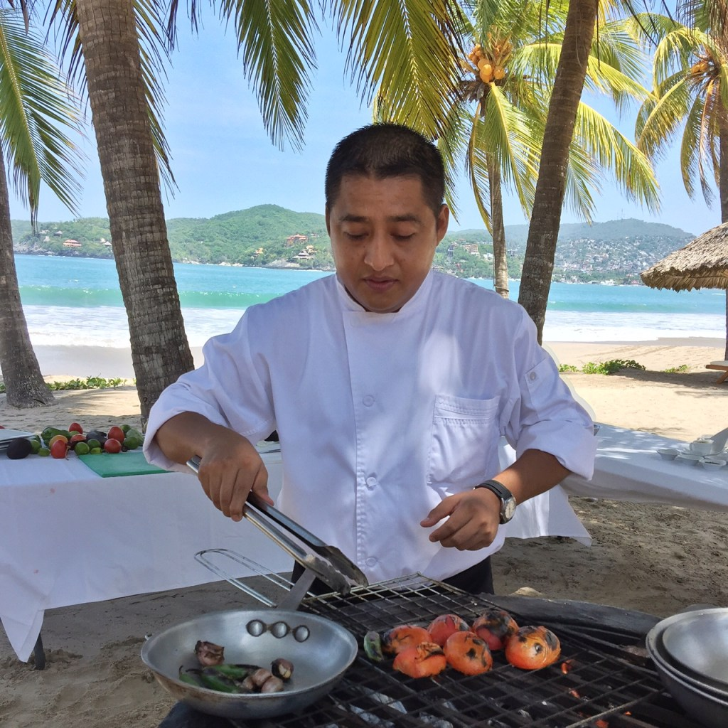 Cooking class at Viceroy Zihuatanejo