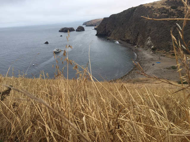 Hiking in the Channel Islands