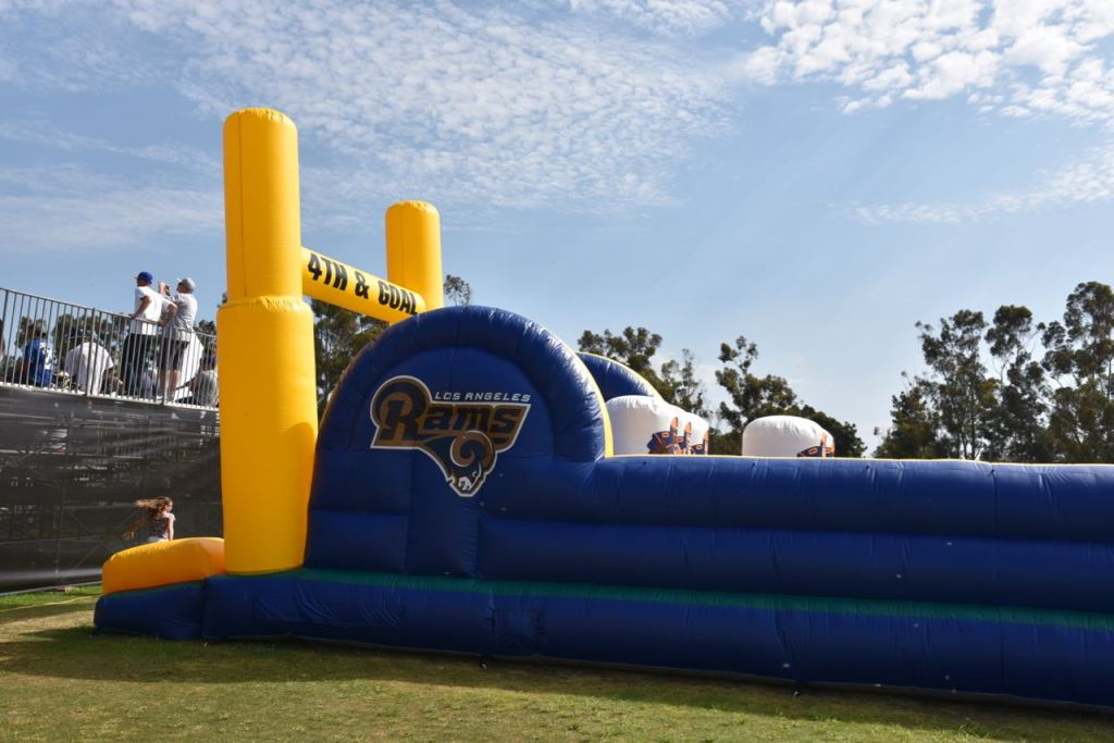 Jumper at the Rams Training Camp