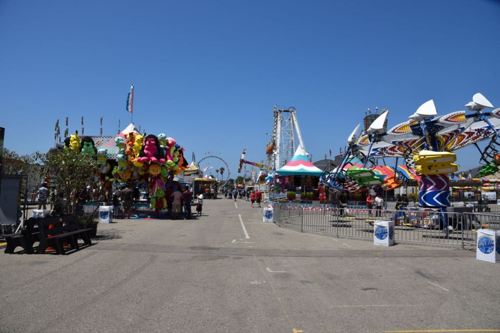 Rides at the Ventura County Fair