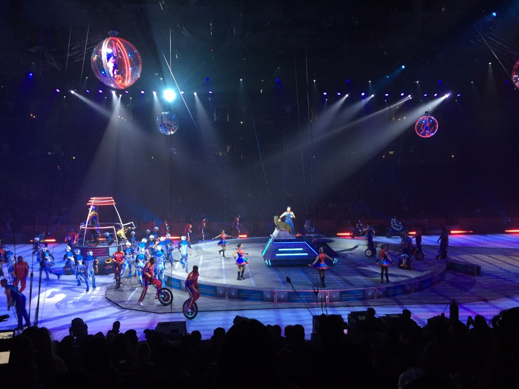 Ringling Bros Circus in Anaheim
