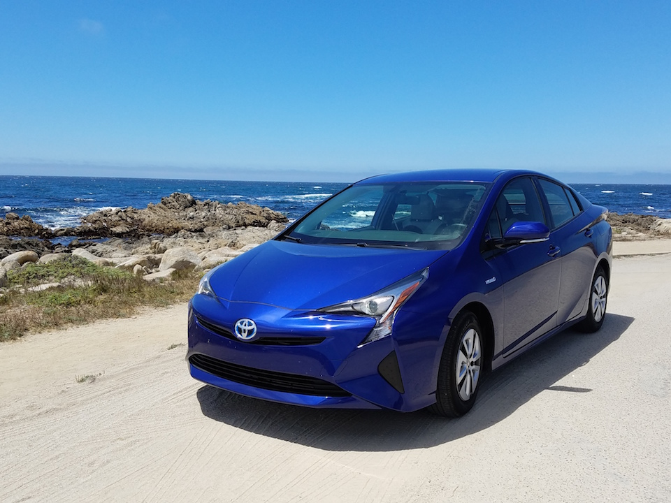 Taking the 2016 Prius to Carmel