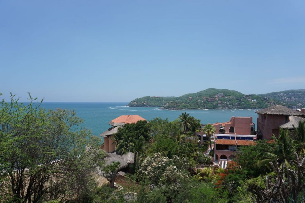 views of Zihuatanejo