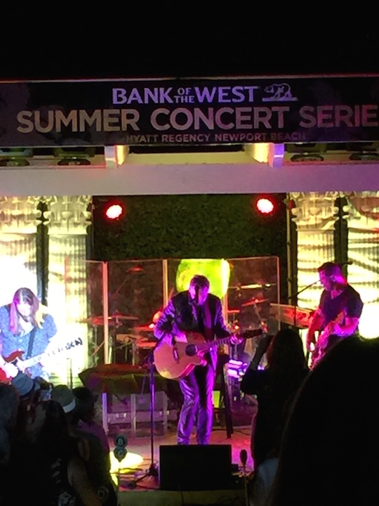 Kenny Loggins at the Hyatt Summer Concert Series
