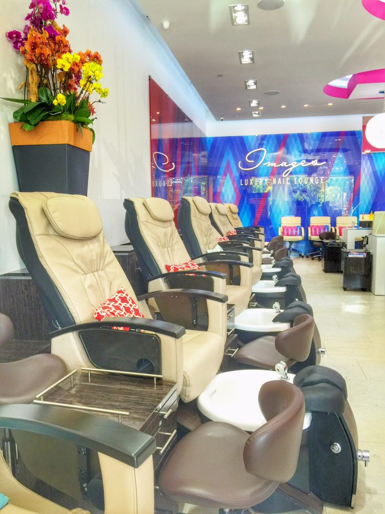 Premier Manicure at Images Nail Salon in Irvine