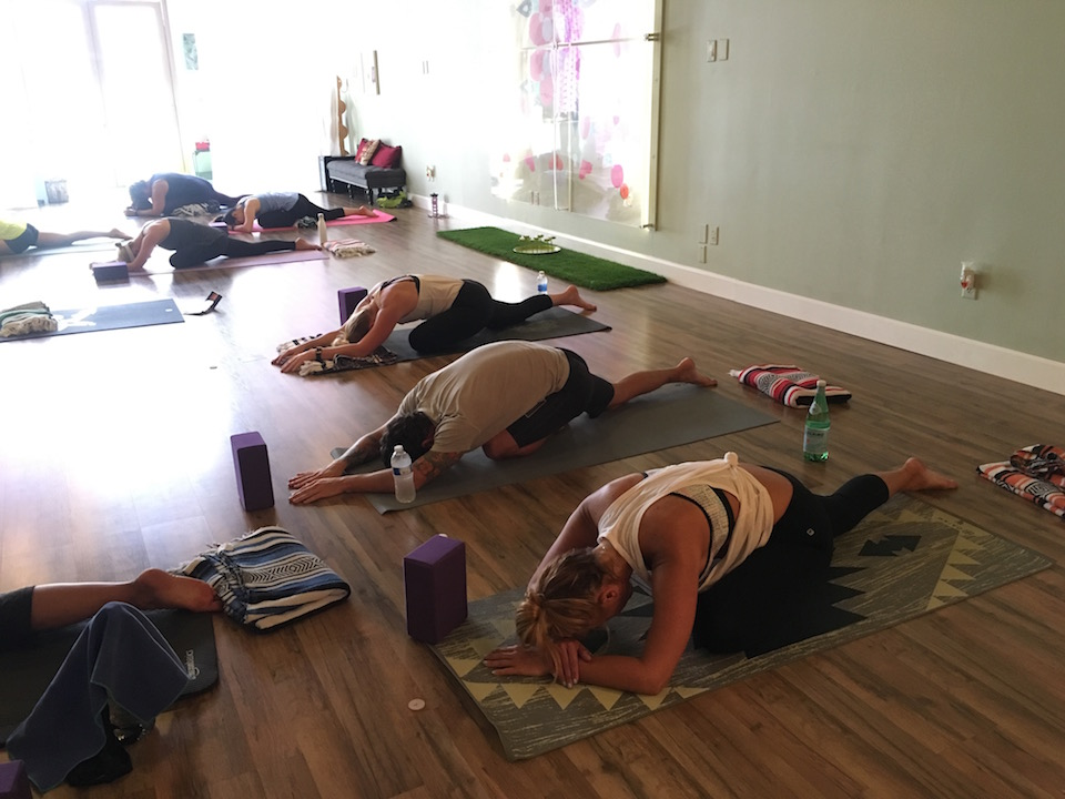 taking-a-class-at-caffe-yoga-in-tustin