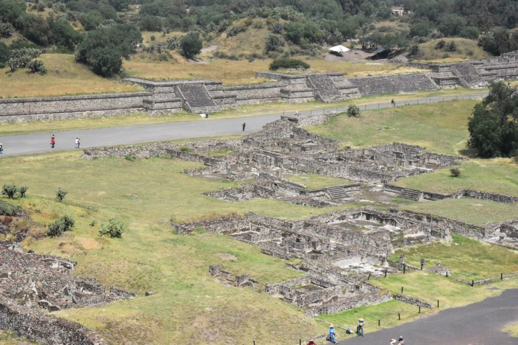 Looking Down on Teotihuacan