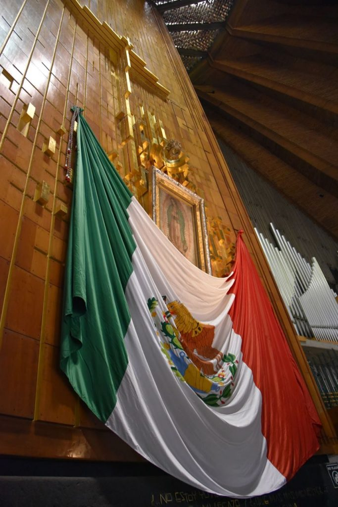 Our Lady of Guadalupe in The New Basilica