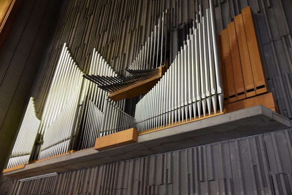 Pipes in the new Basilica in Mexico City