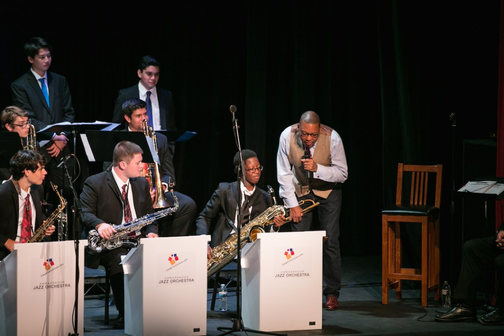 Wynton Marsalis at OCSA