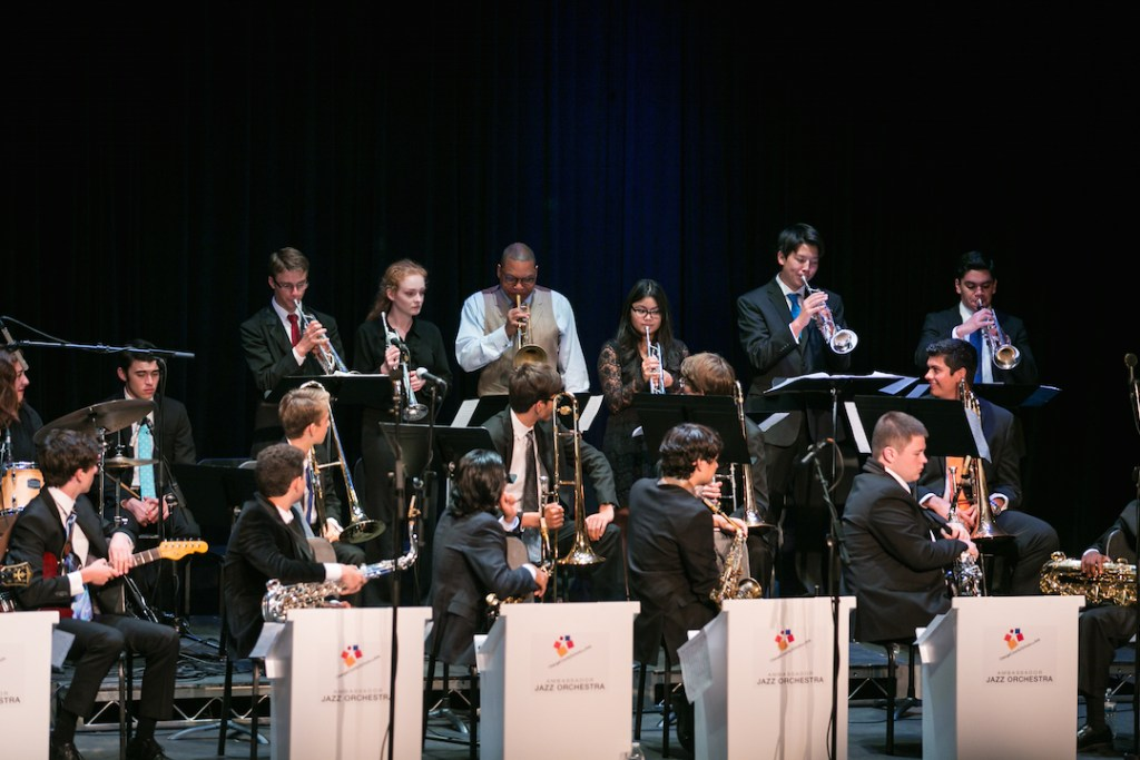 Wynton Marsalis at Orange County School of the Arts