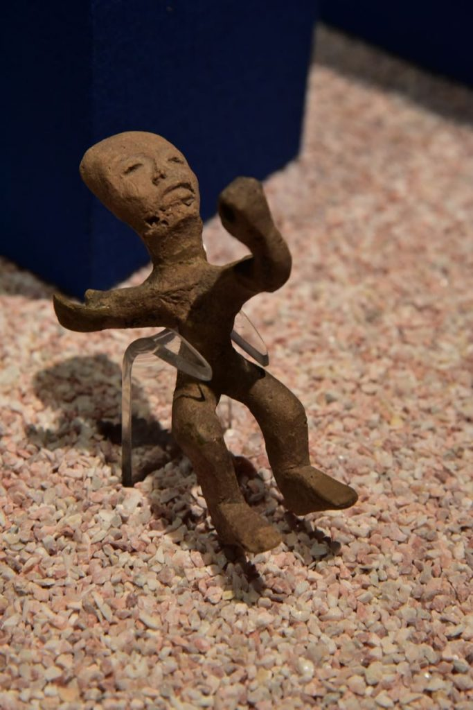 Mini Clay Person from Teotihuacan