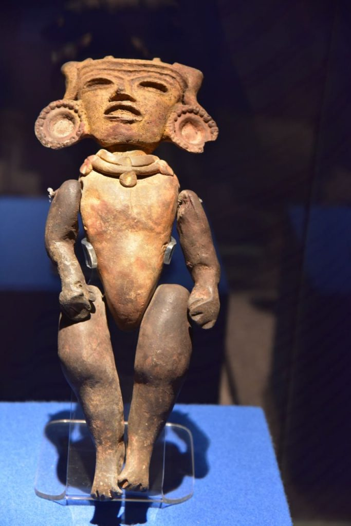 Sculpture of a Person in Teotihuacan