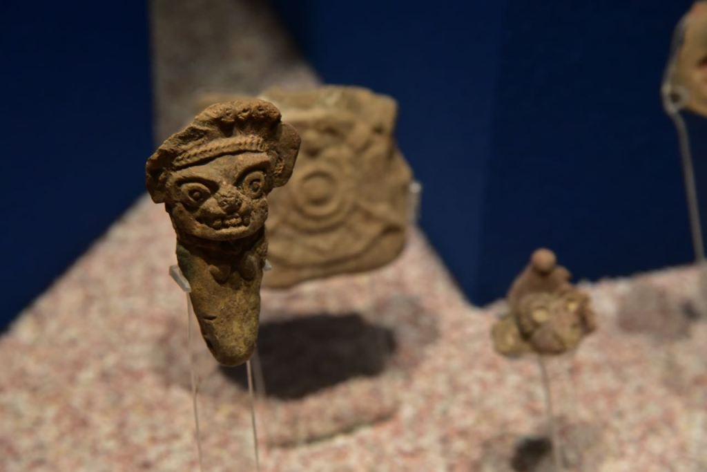 Small Face Mask in Teotihuacan