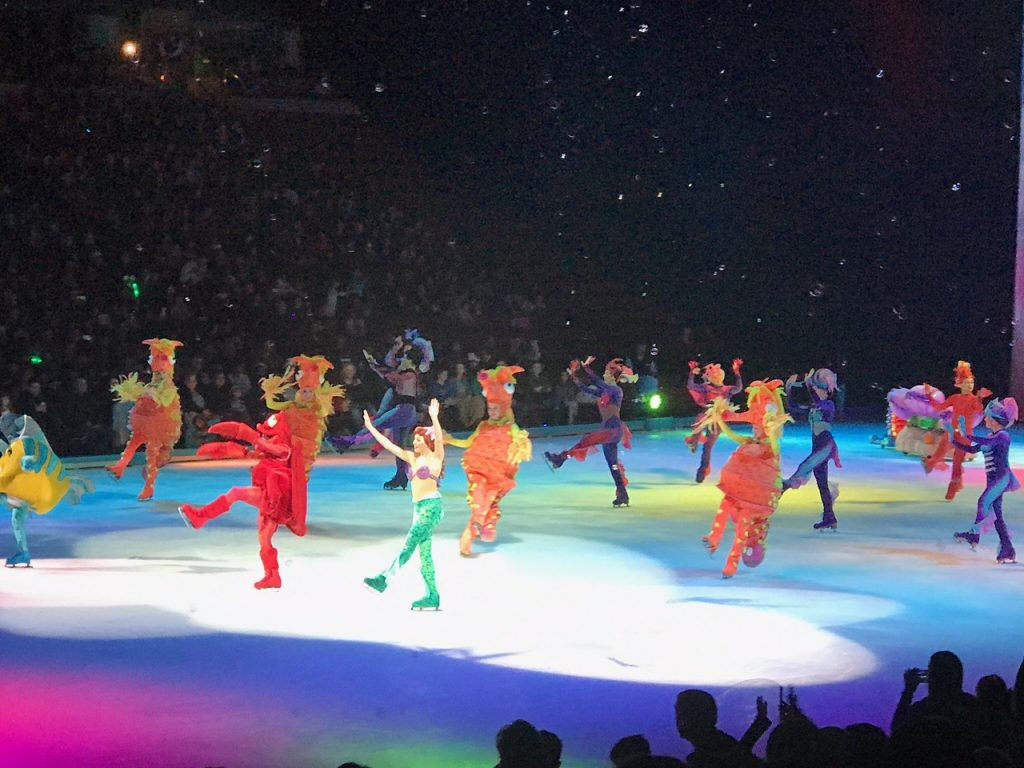 Ariel at Disney on Ice Worlds of Enchantment