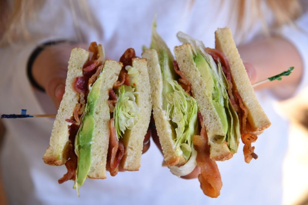BLTA Sandwich at Jackalope's Bar & Grill at Tenaya Lodge