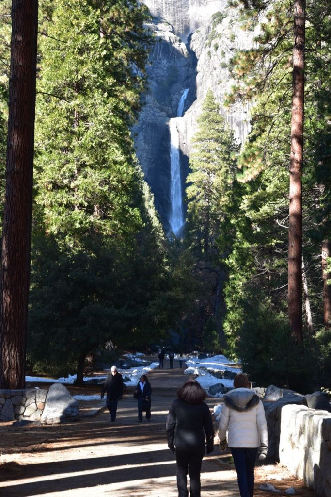Beginning of Lower Yosemite Falls Trail