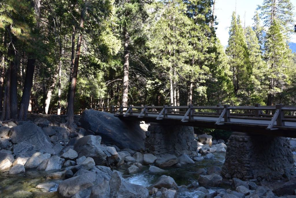 Bridge at Lower Yosemite Falls