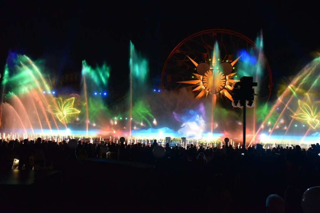 Disney movies featured in World of Color – Season of Light