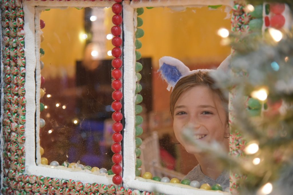 Exploring the Great Wolf Lodge Gingerbread House