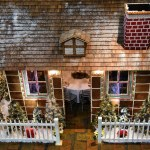 Dine Inside of a Life-Size Gingerbread House