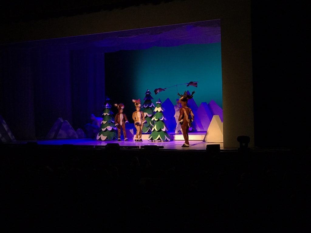 Holiday Family Fun at Rudolph the Red-Nosed Reindeer the Musical