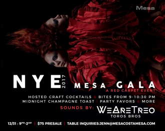 Mesa New Year's Eve