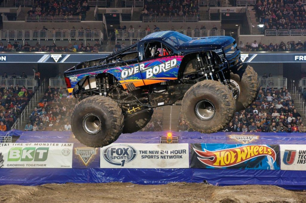 Over Board at Monster Jam