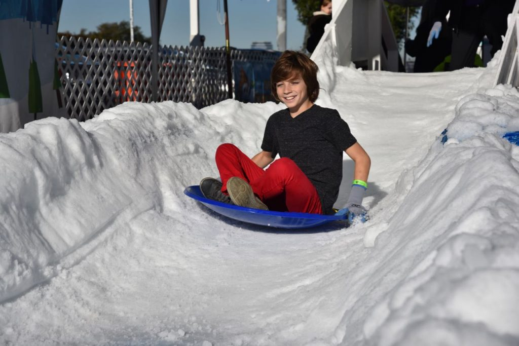Snow fun at Discovery Cube OC