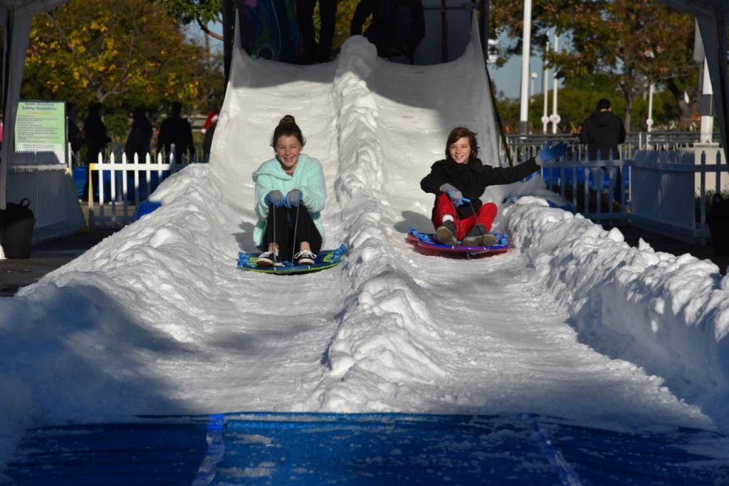 Snowplay fun at Discovery Cube OC