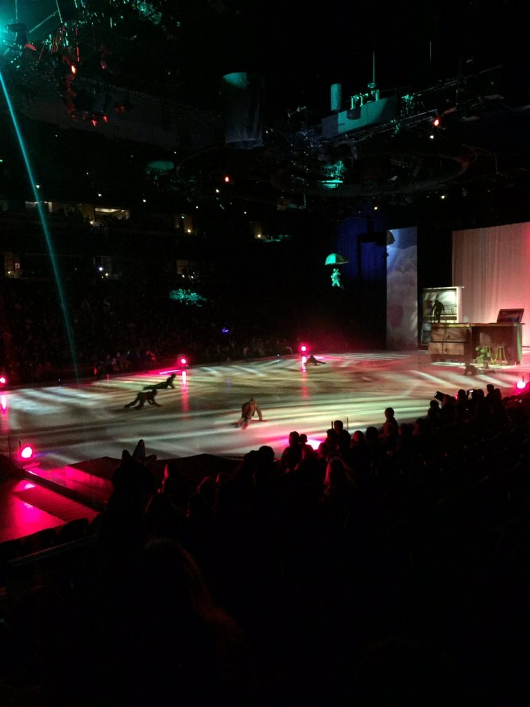 The Start of Disney on Ice Worlds of Enchantment