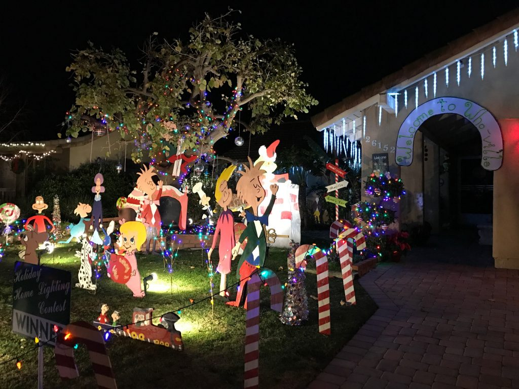 Visiting the Whoville House in Mission Viejo
