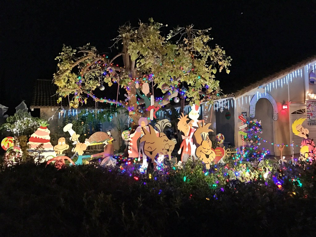 Whoville House Holiday Lights in Orange County