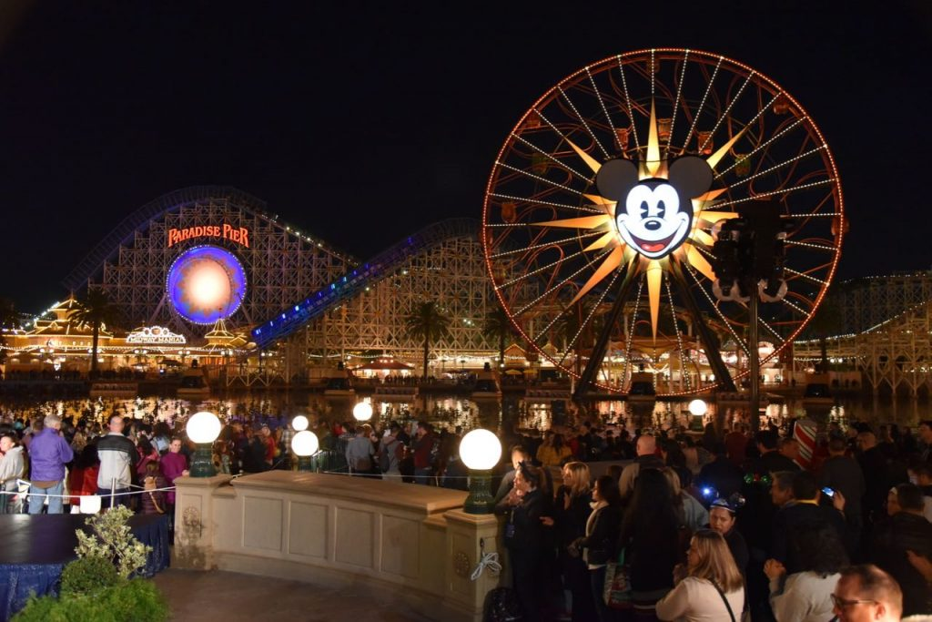 World of Color – Season of Light at the Disneyland Resort