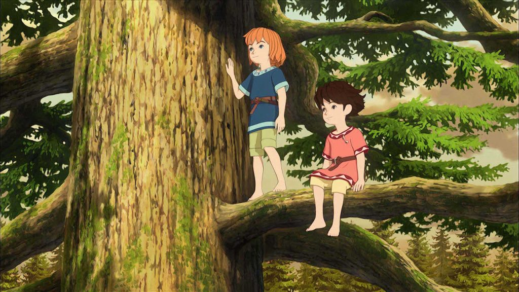 A scene from Ronja the Robber's Daughter