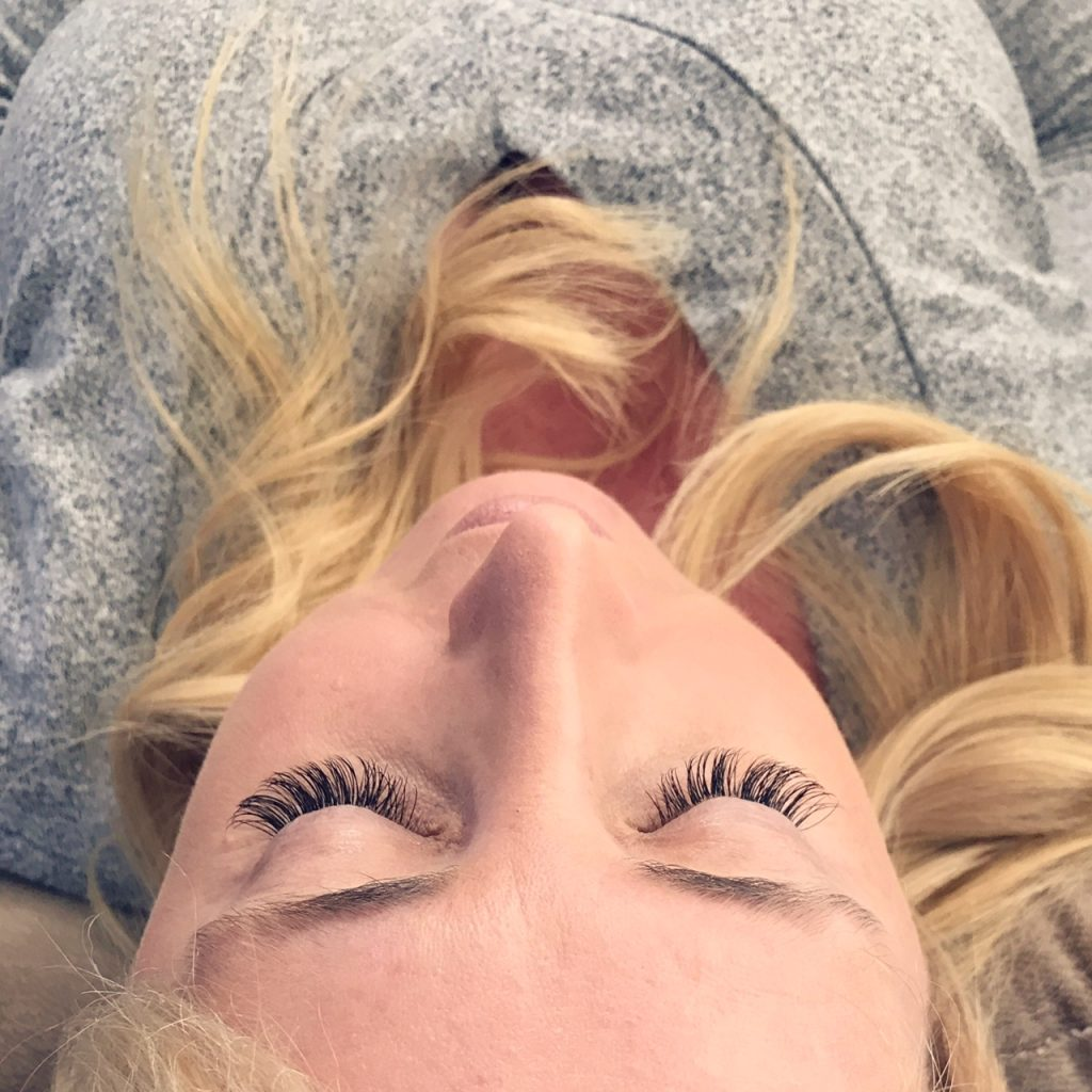 Beautiful lashes from Amazing Lash Monarch Beach
