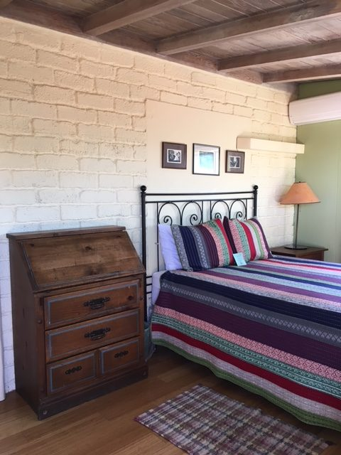 Bedroom at 29 Palms Inn in Joshua Tree