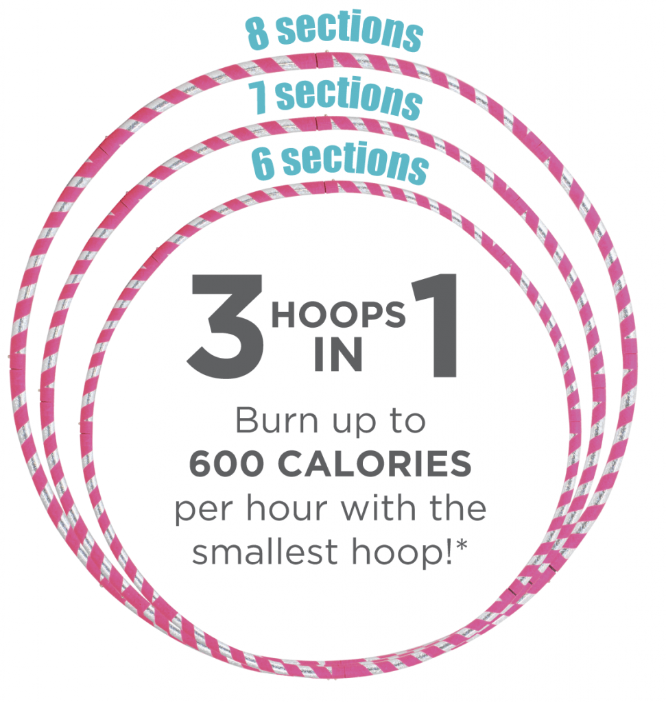 Cardio Dance Hoop Sizes