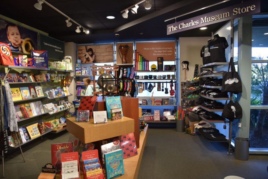 Gift shop at Museum of Making Music
