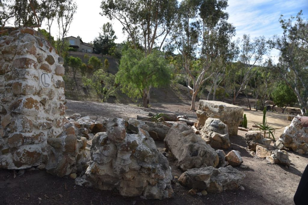Old building at Leo Carrillo Ranch Historic Park