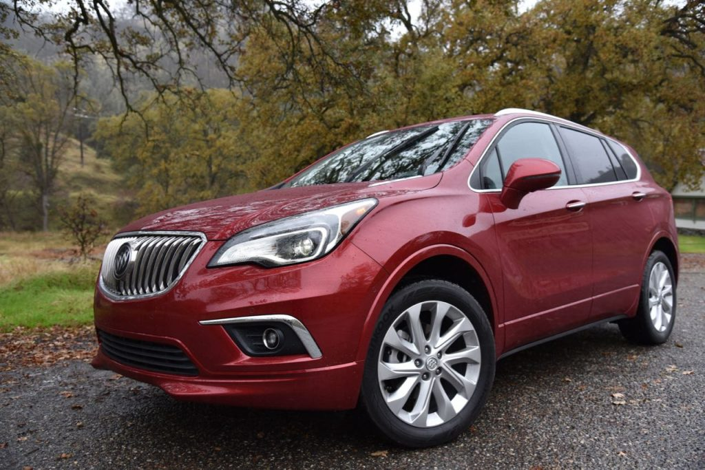 The 2017 Buick Envision