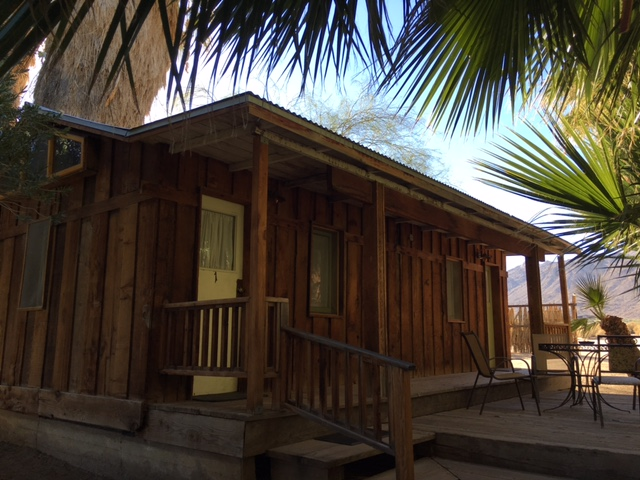 Wood Cabin at 29 Palms Inn