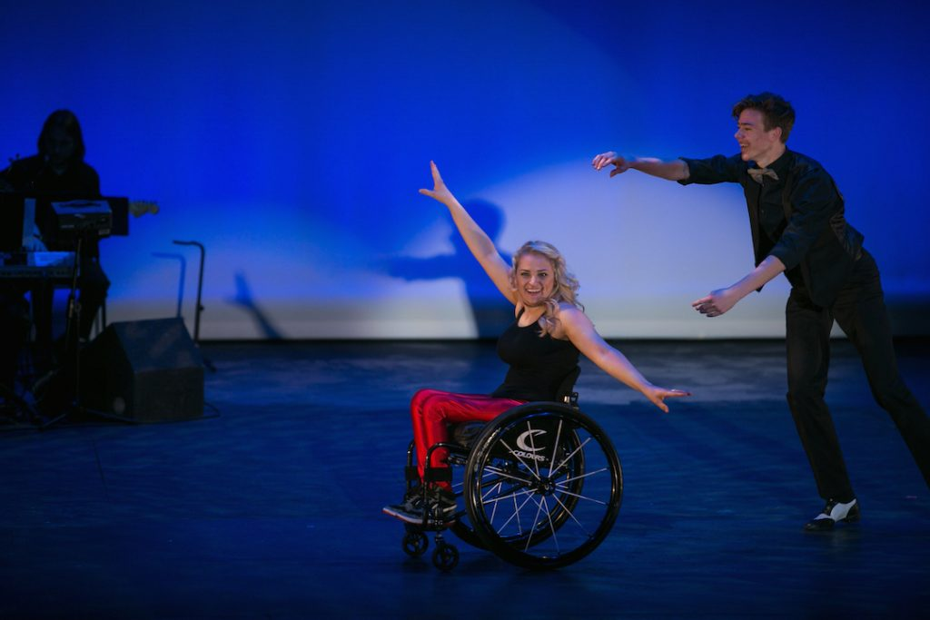 Ali Stroker gives an epic performance at OCSA