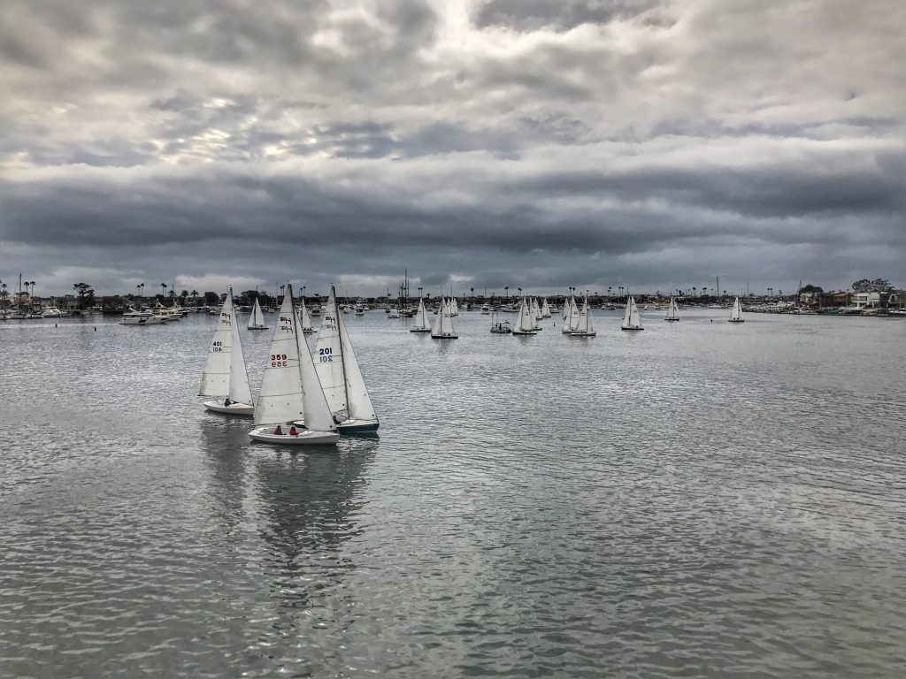 Boats in Newport Harbor