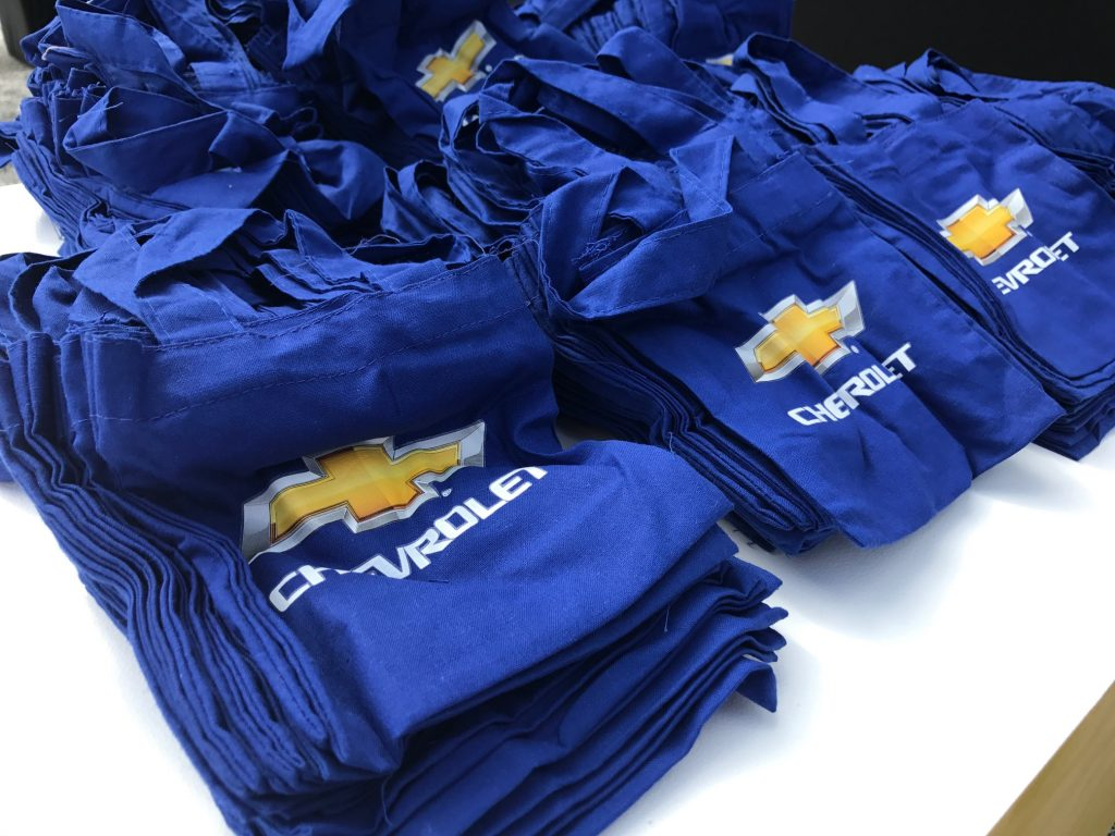 Chevrolet Gift Bags at The Lego Batman Movie Premiere